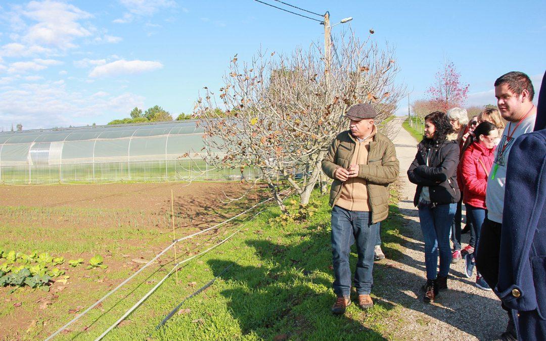 Formandos de agricultura biológica visitam EPDRA