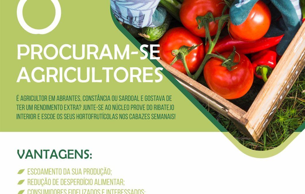 I Núcleo PROVE do Ribatejo Interior procura novos produtores