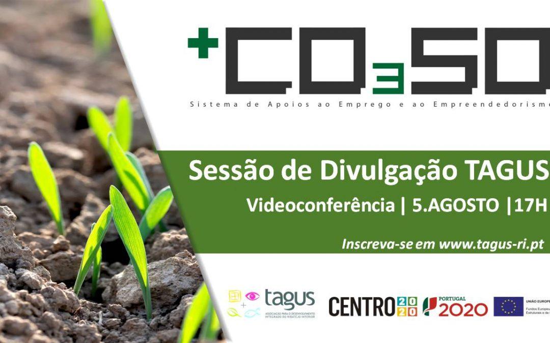 Sessão de Divulgação sobre o + CO3SO Emprego