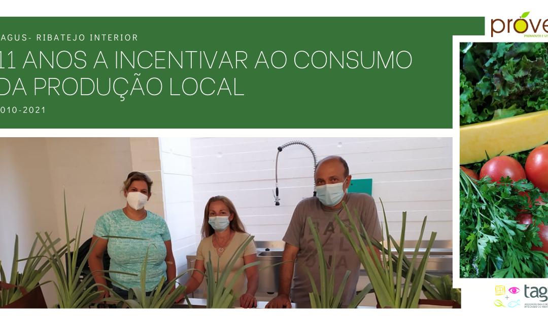 11 anos a incentivar o consumo da produção local